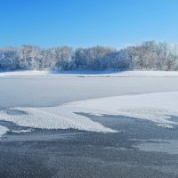 Прогнозы появления ледяных образований на реках области