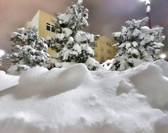 Снегопады в Гродненской области